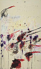 Quattro Stagioni Part III Autunno c1993 - Cy Twombly
