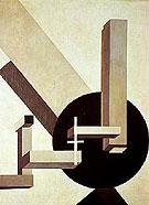 Proun 10 1919 - El Lissitzky