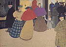The Passers By 1897 - Felix Vallotton