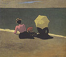 On The Beach 1899 - Felix Vallotton