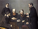 The Five Painters 1902 - Felix Vallotton