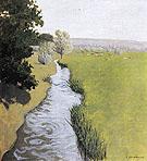 Landscape at Arques la Bataille 1903 - Felix Vallotton