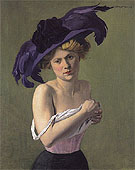 The Purple Hat 1907 - Felix Vallotton