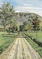 Road to Evordes 1890 - Ferdinand Hodler