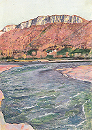 Saleve in Fall 1891 - Ferdinand Hodler