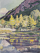 At the Foot of Petit Saleve 1893 - Ferdinand Hodler