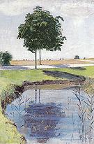 Chestnut Trees 1889 - Ferdinand Hodler