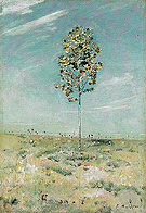 Small Plane Tree 1890 - Ferdinand Hodler