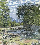 Black Lutschine 1905 - Ferdinand Hodler