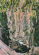 Aare Gorge 1907 - Ferdinand Hodler