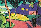 Toward Evening 1909 - Gabriele Munter