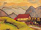 Farmhouse on the Hill 1908 - Gabriele Munter
