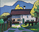 Country House 1908 - Gabriele Munter