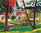 Lindenburg 1908 - Gabriele Munter