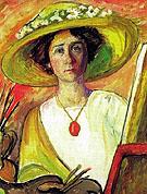 Marianne Von Werefkin 1909 - Gabriele Munter