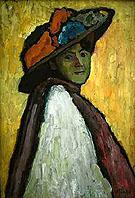 Black Mask Rose 1912 - Gabriele Munter