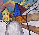The Blue Gable 1911 - Gabriele Munter