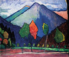 Blue Mountain 1909 - Gabriele Munter