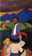 Boating 1910 - Gabriele Munter