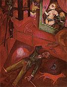 Suicide 1916 - George Grosz