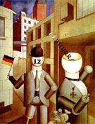 Republican Automatons 1920 - George Grosz