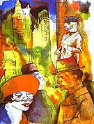 Dusk 1922 - George Grosz