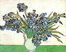 Still Life Vase with Irises 1890 - Vincent van Gogh