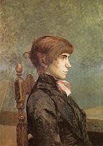 Jeanne Wenz 1886 - Henri Toulouse Lautrec