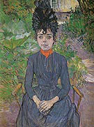Justine Dieuhl 1891 - Henri Toulouse Lautrec