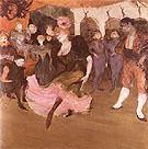 Marcelle Lender Dancing the Bolero 1895 - Henri Toulouse Lautrec