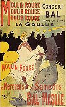 Moulin Rouge la Goulue 1891 - Henri Toulouse Lautrec