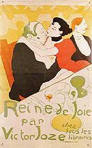 Reine de Joie Queen of Joy 1892 - Henri Toulouse Lautrec