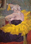 The Clowness Chau U Kao I - Henri Toulouse Lautrec
