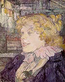 The English Girl from the Star at Le Havre 1899 - Henri Toulouse Lautrec