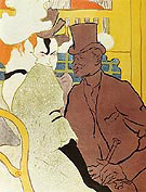 The Englishman at the Moulin Rouge 1892 - Henri Toulouse Lautrec
