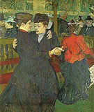 Two Woman Dancing at the Moulin Rouge 1892 - Henri Toulouse Lautrec