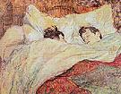 The Bed 1892 - Henri Toulouse Lautrec