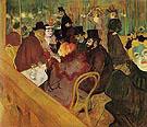At the Moulin Rouge 1892 - Henri Toulouse Lautrec