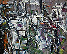 Composition 1957 - Jean-Paul Riopelle
