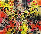 Untitled 1954 - Jean-Paul Riopelle