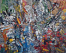 Untitled 1956 - Jean-Paul Riopelle