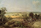 Stour Valley and Dedham Church 1814 - John Constable