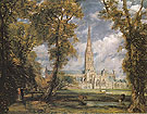 Salisbury Cathedral from the Bishops Grounds 1825 - John Constable