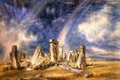Stonehenge 1836 - John Constable