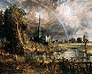 Salisbury Cathedral from the Meadows 1831 - John Constable