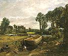 Boat Building Near Flatford Mill 1815 - John Constable