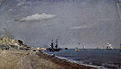 Beach of Brighton with Sailing Boats 1824 - John Constable