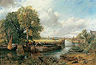 View on the Stour Near Dedham 1822 - John Constable