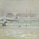 View from the Holley House Winter 1901 - John Twachtman