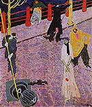The Manhole I 1908 - Lyonel Feininger